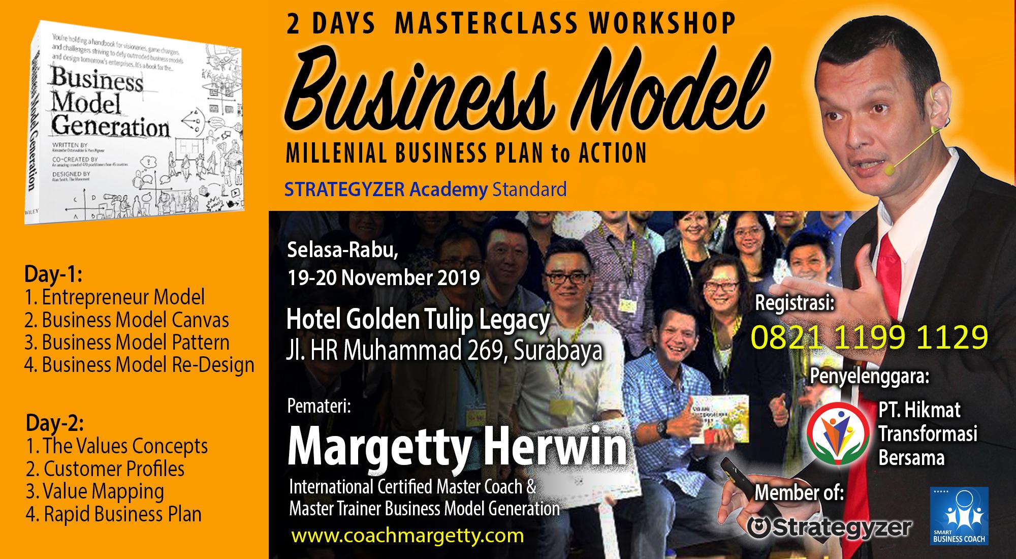2 Days Masterclass Certification Business Model & Value Proposition Design