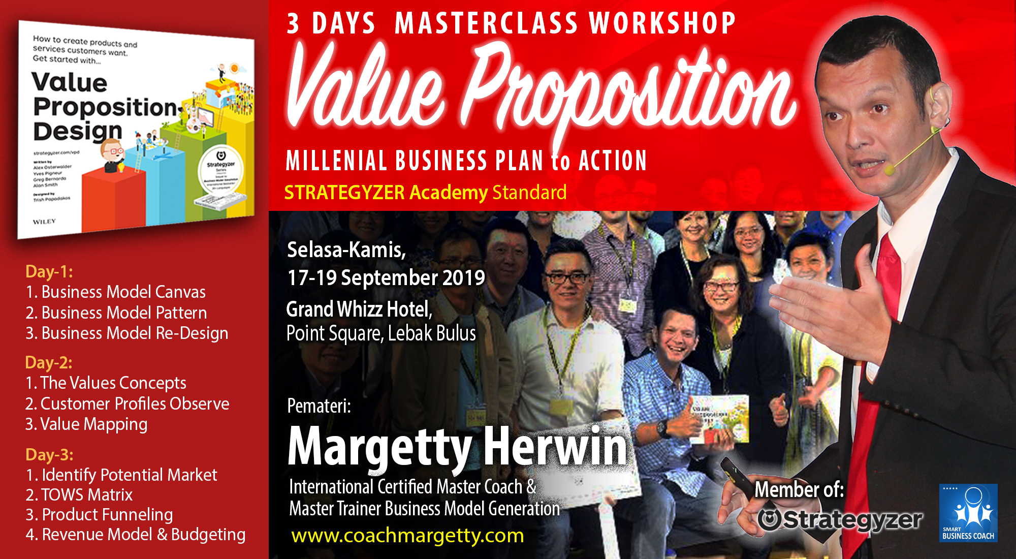 3 Days Masterclass Value Proposition (Business Plan to Action)