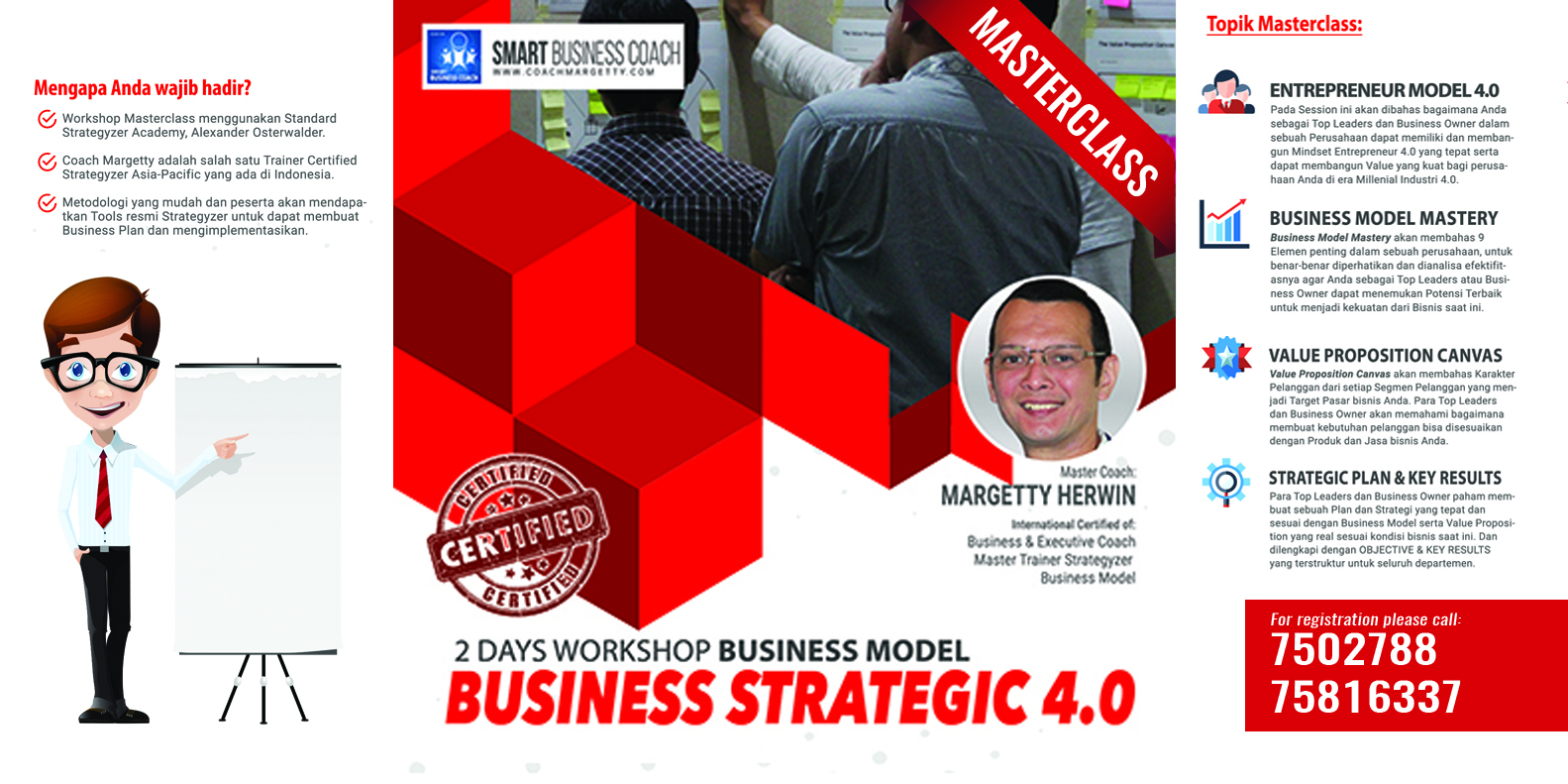 2 Days Masterclass Business Strategic 4.0
