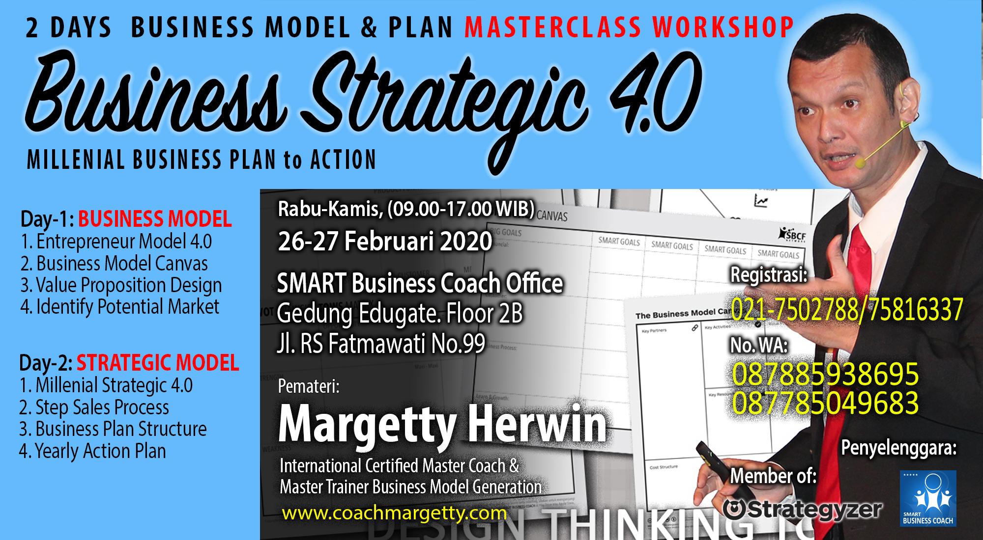 2 Days Masterclass Business Strategic 4.0