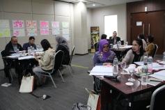 Suasana Training yang Praktis dan Full Diskusi